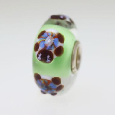 Light Green Turtle Bead