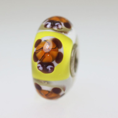 Yellow Turtle  Bead