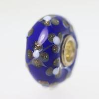 Blue Clover Unique Bead