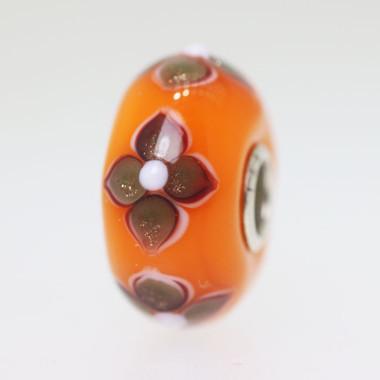 Opaque Orange Bead