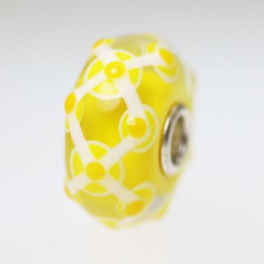 Yellow Unique Bead
