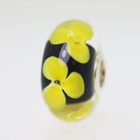 Black & Yellow Unique Bead