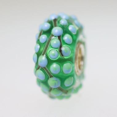 Green Budded Bead