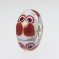 Brown Owl Bead