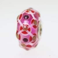 Pink & Glitter Unique Bead