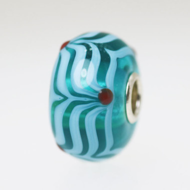 Aqua Unique Bead