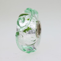 Green & Silver Bead