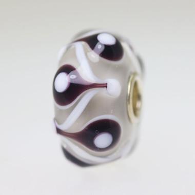 Mocha Brown Unique Bead