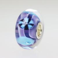 Purple & Blue Unique Bead