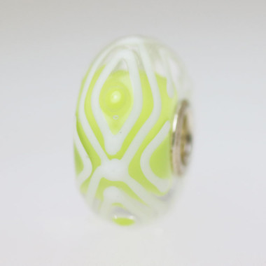 Light Lime Green Unique Bead
