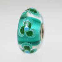 Aqua & Green Unique Bead