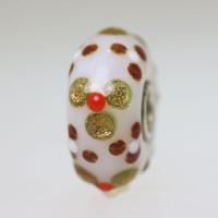 Glitter Flower Bead