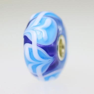 Blue & Purple Bead