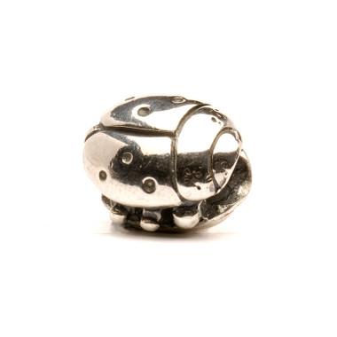 Ladybug Silver Trollbeads