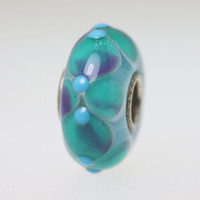 Aqua Unique Budded Beads