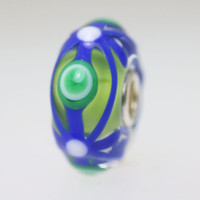 Blue & Green Unique Bead