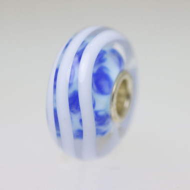 Blue & White Bead