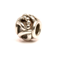 Art Deco Retired Silver Trollbeads