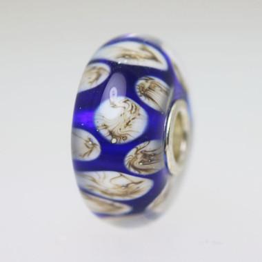 Blue Unique Bead
