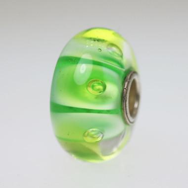 Green Bubble Unique Bead