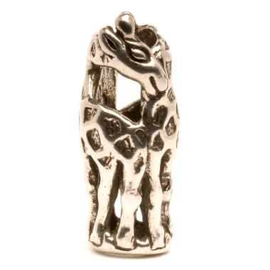 Giraffes Silver Trollbeads