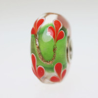Green & Red Unique Bead