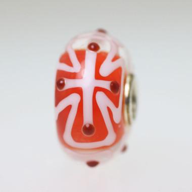 Red & White Bead