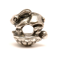 The Hare and the Tortoise Silver Trollbeads