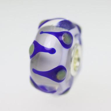 Blue & Grey Unique Bead