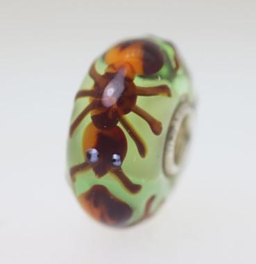 Green Base Ant Bead