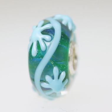 Aqua Green Star Bead