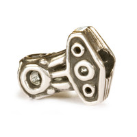 Thor's Hammer Sterling Silver Trollbeads.