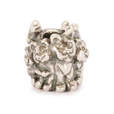Family of Kittens Silver Trollbeads