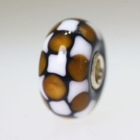 Opaque Checkerboard Bead