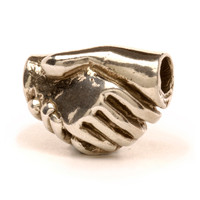 Friendship Sterling Silver Trollbeads