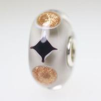 Glitter & Grey bead