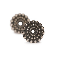 Sun Circle Silver Earring Accessories