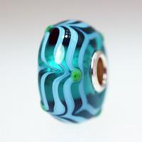 Aqua Unique Bead