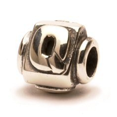 Retired Trollbeads Letter Q