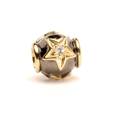 Stars Bead, Gold & Diamond Trollbeads