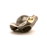 Space silver and gold Trollbeads