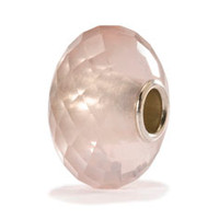 Rose Quartz Faceted Stone Bead