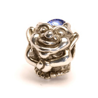 Troll With Big Feet Silver and Glass Trollbeads