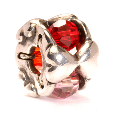 Valentine Glass and Sterling silver Trollbeads