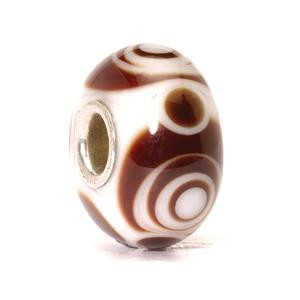 Carly, glass retired Trollbeads