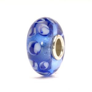 Blue Dots Retired Trollbeads