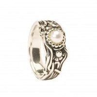 Ring, Jugend Pearl Ring, 6 1/4