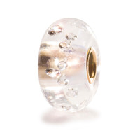 The Diamond Bead with Gold Core Trollbeads