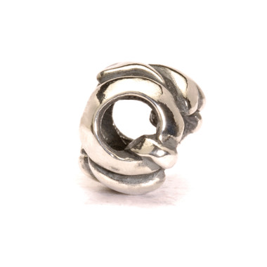 Letter Bead Q, Silver