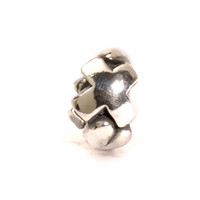 Letter Bead X, Silver, retired